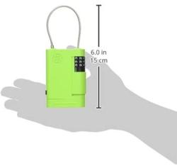 Přenosné úložiště klíčů s kombinačním zámkem a lankem Stor-A-Key - 3