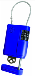 Přenosné úložiště klíčů s kombinačním zámkem a lankem Stor-A-Key - 5